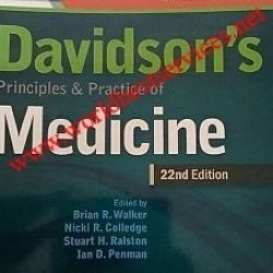 Principle and Practice of Medicine